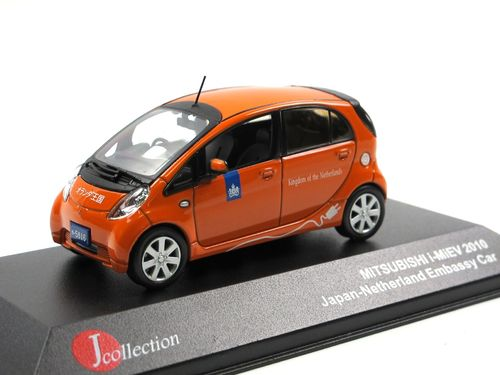 J-Collection 2010 Mitsubishi i-MiEV Netherland Embassy 1/43