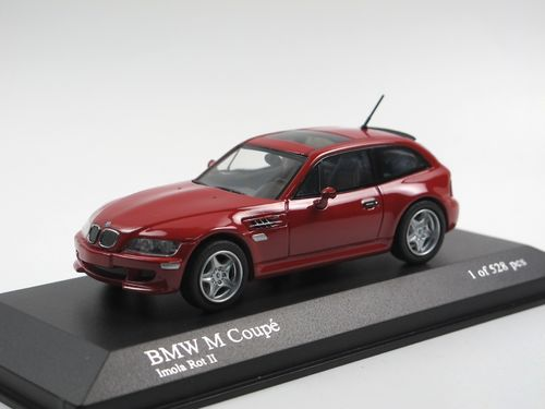Minichamps 2002 BMW M Coupé Imola Red 1/43