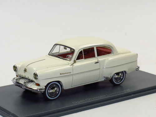 Neo Scale Models 1954 Opel Olympia Limousine creme 1/43
