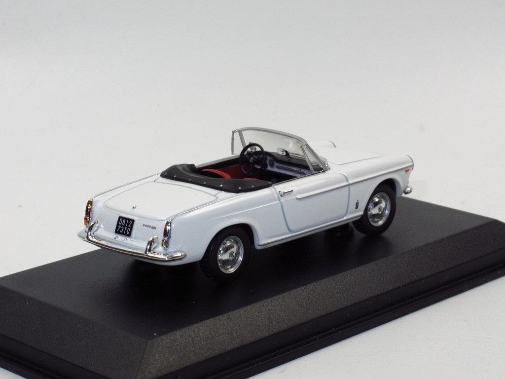norev 1963 fiat 1500 cabriolet wei 1 43 seltenes modellauto. Black Bedroom Furniture Sets. Home Design Ideas