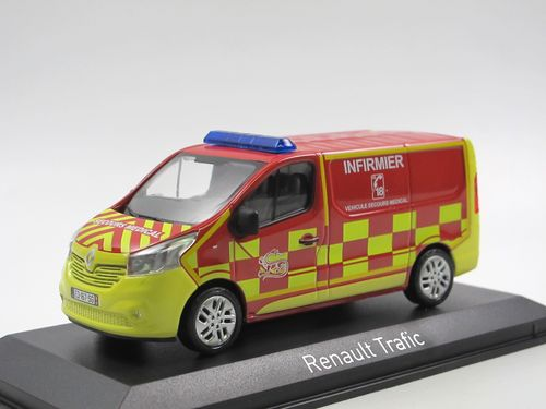 Norev 2014 Renault Trafic POMPIERS INFIRMIER RTW 1/43