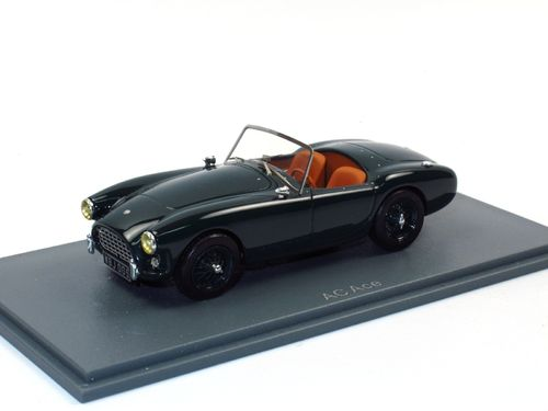 Neo Scale Models 1955 AC Ace Roadster LHD grün 1/43