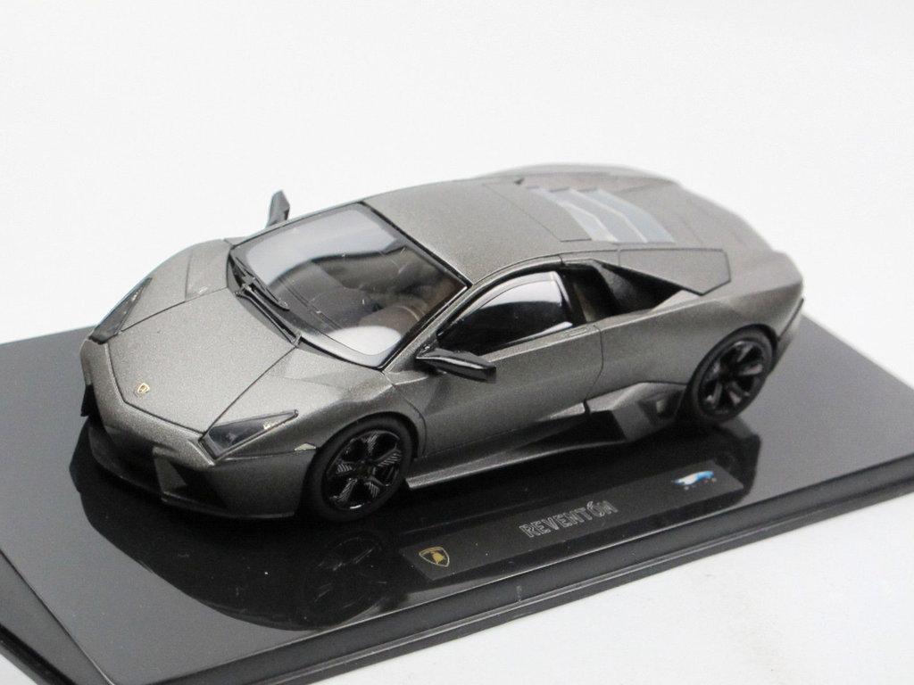 Lamborghini Reventon dunkelgrau 2007 1:43 Modellauto