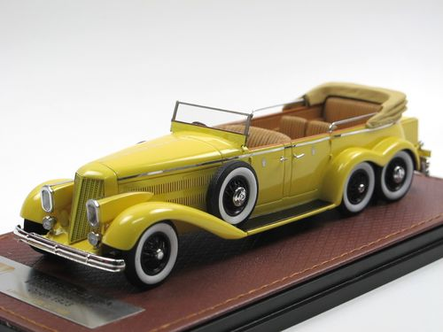 GLM 1923 Hispano-Suiza H6A Victoria Town Car open 1/43