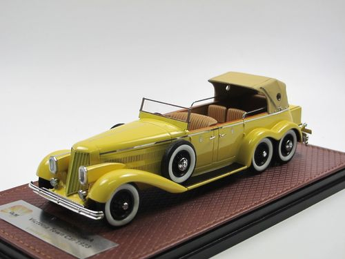 GLM 1923 Hispano-Suiza H6A Victoria Town Car closed 1/43