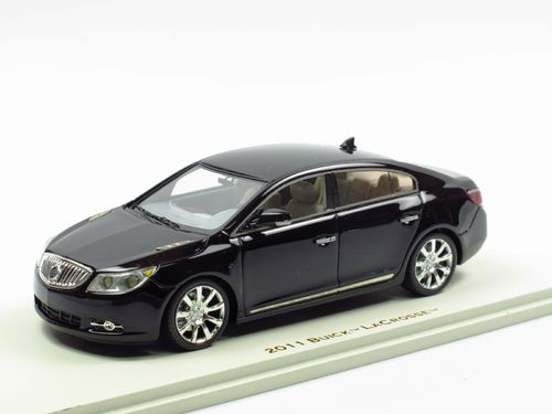 LUXURY Collectibles 2011 Buick LaCrosse black 1/43