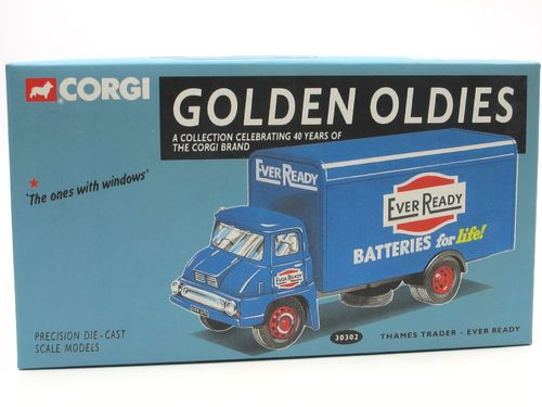 Corgi Ford Thames Trader (1957-1965) EVER READY ca. 1/50