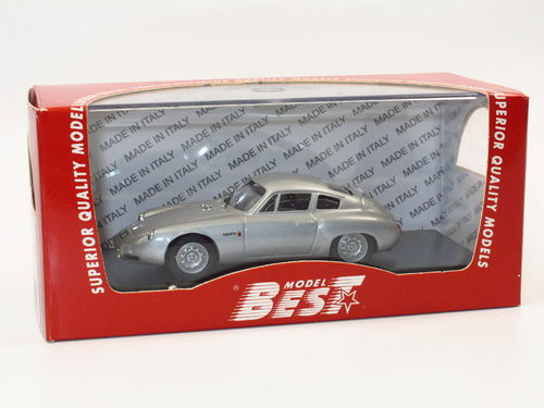Best Model Porsche 356 Abarth GS (1960) silber 1/43
