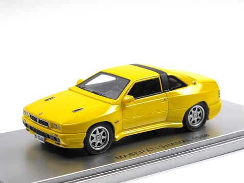Kess Scale Models 1988 Maserati Shamal yellow 1/43