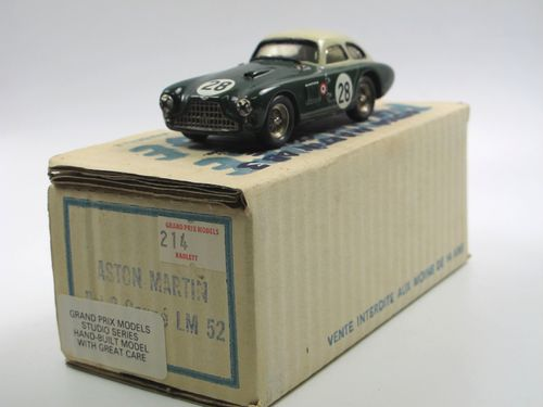 Provence Moulage Aston Martin DB3 Coupe Le Mans 1952 #28 1/43