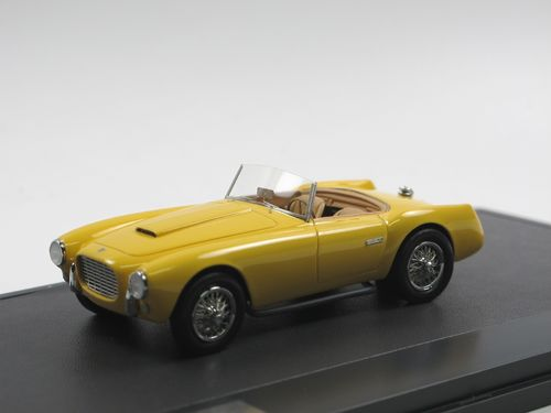 Matrix Scale Models 1953 Siata 208 S Motto Spider yellow 1/43