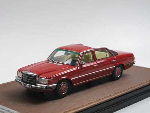 GLM 1973 Mercedes-Benz 280 SEL W116 Landaulet red 1/43