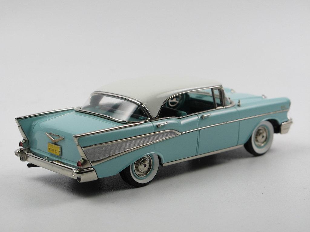 Brooklin 1957 Chevrolet Bel Air 4 Door Hardtop 2 Tone 1 43 New Chevy