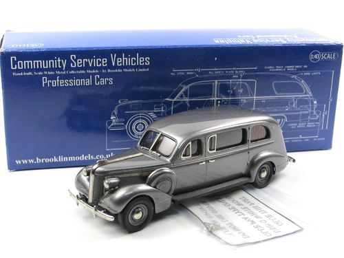 Brooklin 1937 Superior-Pontiac Provident Ambulance gray 1/43