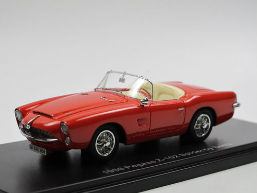 ESVAL MODELS 1959 Pegaso Z-102 Spider by Serra red 1/43