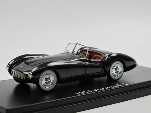 ESVAL MODELS 1953 Victress S1 Roadster black 1/43