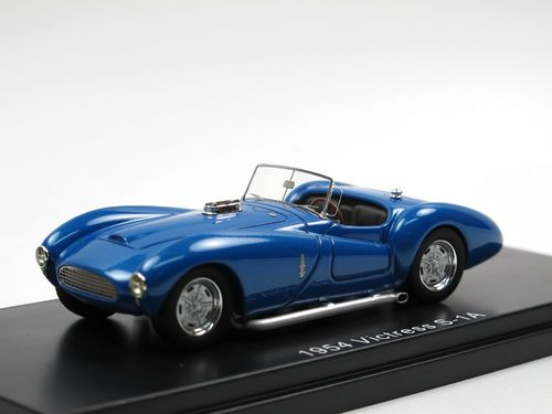 ESVAL MODELS 1954 Victress S1A Roadster blue 1/43