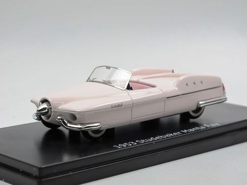 ESVAL 1953 Studebaker Manta Ray restored Version Top down 1/43