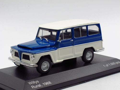 WhiteBox 1968 Willys Jeep Station Wagon Rural 1/43