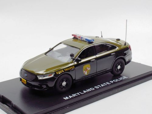 First Response Ford Interceptor MARYLAND STATE POLICE 1/43