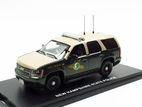First Response Chevrolet Tahoe New Hamphire State Police 1/43