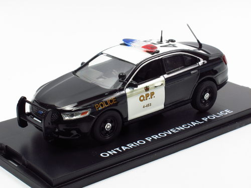 First Response Ford Interceptor Ontario Provencial Police 1/43