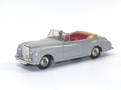 Dinky Toys Bentley S2 Convertible Coupe grau ohne Box