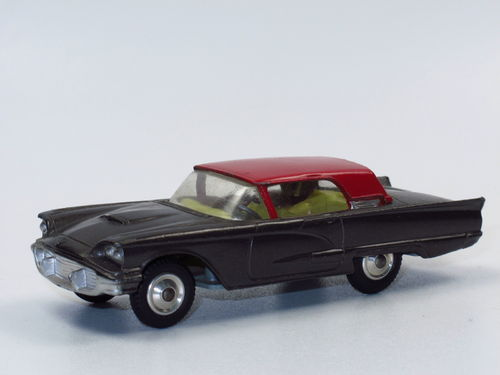 Corgi Toys Ford Thunderbird Coupe grau/rot no box