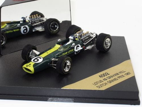 Quartzo Lotus 49 Dutch Grand Prix 1967 Graham Hill 1/43