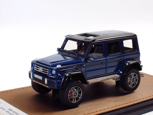 GLM Models 2016 Mercedes-Benz G 500 4x4² blue 1/43