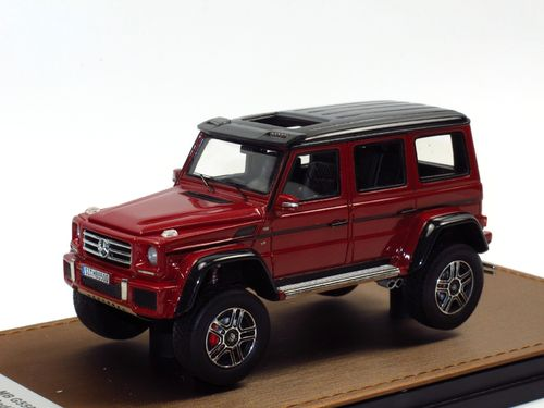 GLM Models 2016 Mercedes-Benz G 500 4x4² red 1/43