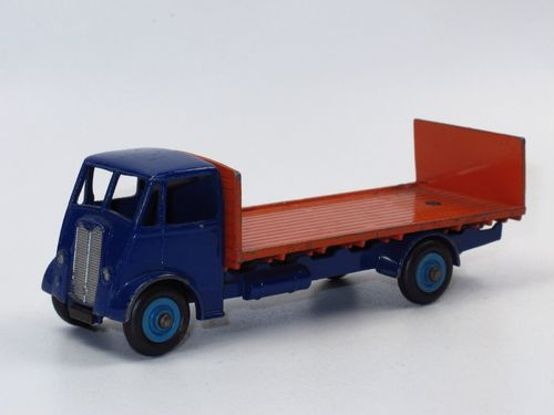 Dinky Toys 513 Guy Vixen 4 ton Flat Truck with Tailboard blue