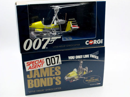 Corgi James Bond 007 LITTLE NELLIE You Only Live Twice 1/36