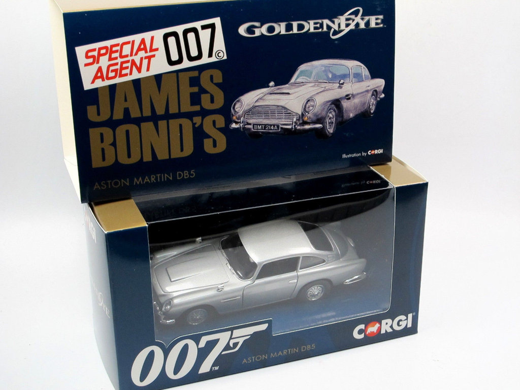 Corgi James Bond 007 Aston Martin Db5 Goldeneye 1 36 Neu In Ovp