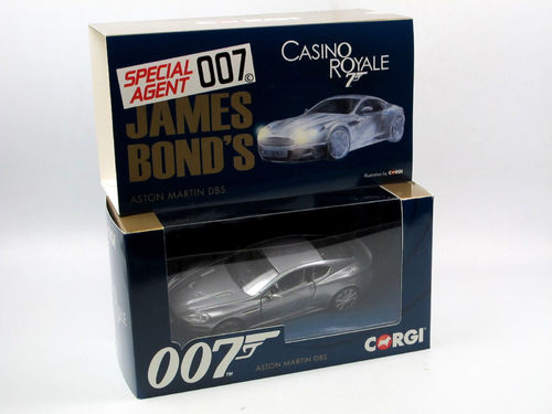Corgi James Bond 007 Aston Martin DBS CASINO ROYALE 1/36