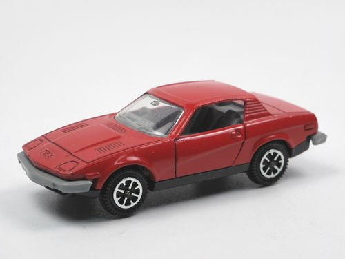 Dinky Toys 211 Triumph TR7 Sports Car rot ca. 1/43