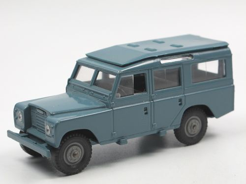Solido Land Rover 109 Series III (1971-1984) blau 1/43