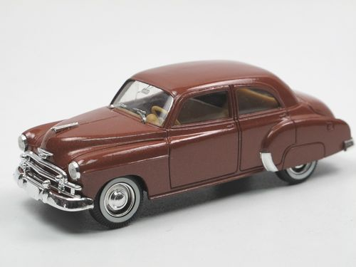 Solido 1950 Chevrolet Deluxe Styleline Braun 1 43 Vintage