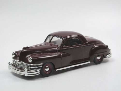 Vitesse 1947 Chrysler Windsor Coupe Edition Kager rot 1/43
