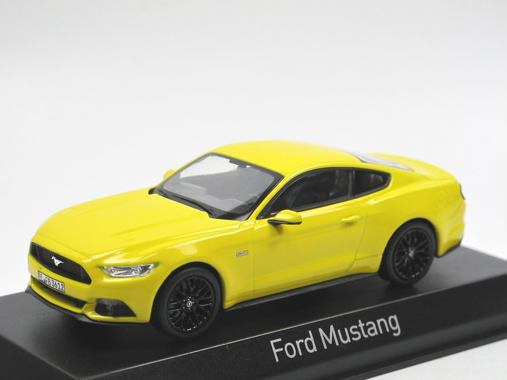 2015-1:43 norev blanco Ford Mustang