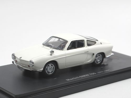Avenue 43 1964 Martini-BMW 700 Rennsport Coupe weiß 1/43
