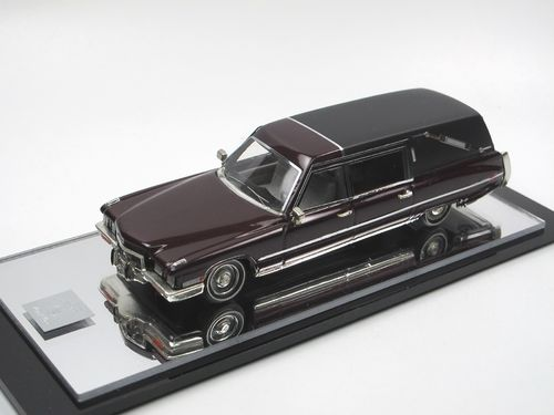 VF Modelle 1972 Cadillac Superior Royal Landau Hearse 1/43