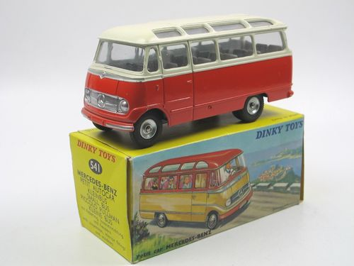 Dinky Toys France Mercedes-Benz O 319 Bus mit Box 1/43