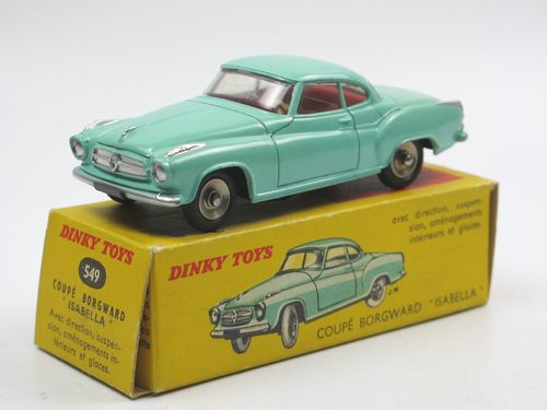 Dinky Toys France Borgward Isabella Coupe mit Box 1/43