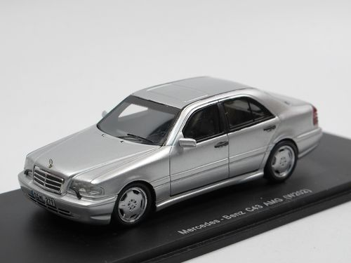 Spark Model 1997 Mercedes-Benz AMG C43 W202 silber 1/43