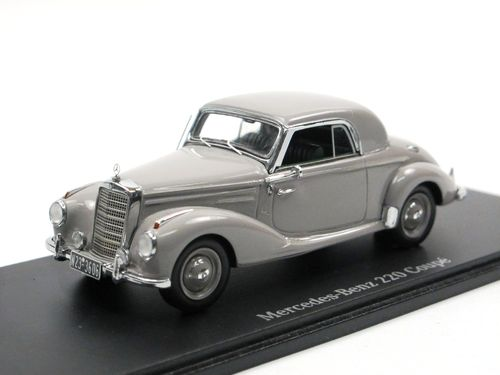 Spark 1951 Mercedes-Benz 220 Coupe (W187) grau 1/43