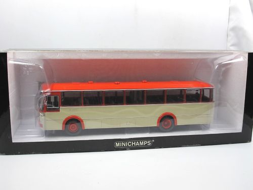 Minichamps 1966 Mercedes-Benz O 317 K Bus orange/creme 1/43