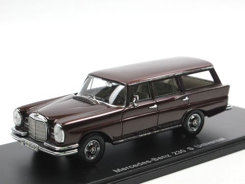 Spark Mercedes-Benz 230 S Universal (W110) 1966 rot 1/43