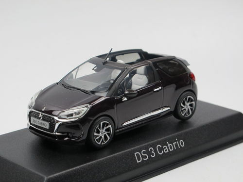 Norev 2016 Citroen DS 3 Cabriolet Whisper Purple 1/43