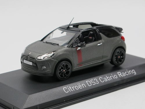 Norev 2014 Citroen DS 3 Racing mattgrau 1/43